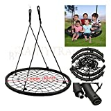 40'' Wide Tree Outdoor Spider Web Swing