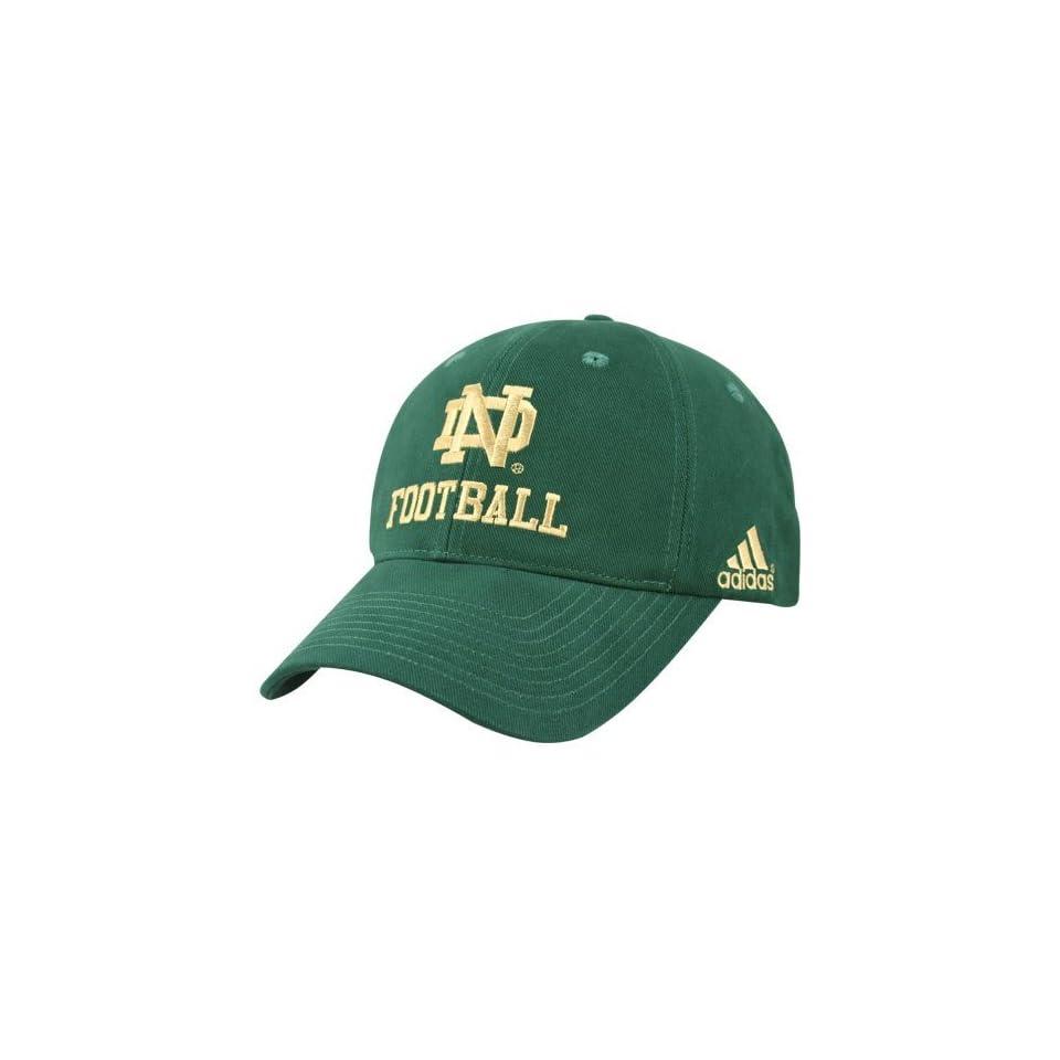 Adidas Notre Dame Fighting Irish Green Game Day Hat