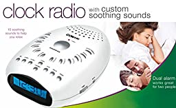 Conair Soothing Sounds & Relaxation Clock Radio