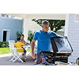 Portable Outdoor Propane Pizza Oven Maker- Hot Crisp Freshly Created Brick Oven Style Pizza In As Little As 5 Minutes- Solid Steel Pizza Grill 13'' Pizza Stone 15,000 BTU Oven Parties Friends Let's Eat