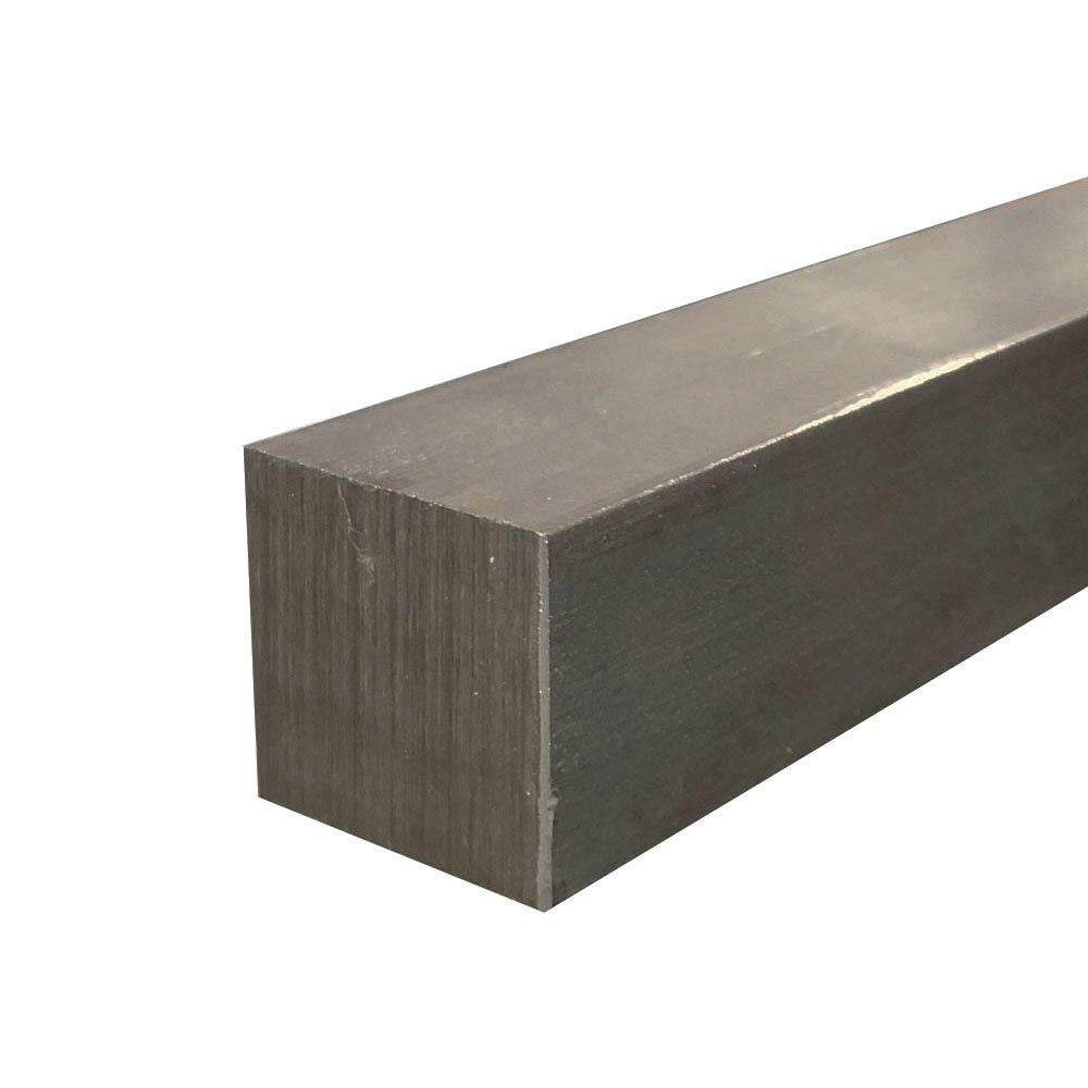 Online Metal Supply 1018 Cold Finished Steel Square Bar 2 x 2 x 12
