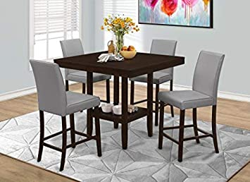 Monarch 2 Piece Dining Chair, Grey