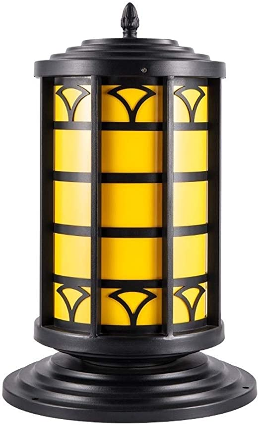 JOLLY Columna led Faros luz de la Puerta luz Puerta Impermeable Pilar lámpara jardín Villa Comunidad Parque Plaza jardín lámpara: Amazon.es: Hogar