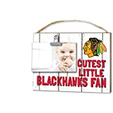 "KH Sports Fan 1001101645 10""x8"" Chicago Blackhawks Clip It Weathered Baby Logo NHL Photo Frame"