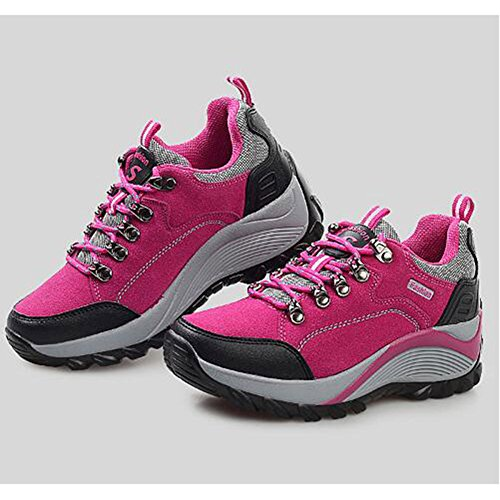 Shoes snfgoij Pink Outdoor Shoes Girls Casual Hiking Sports Walking Ladies Shoes Shoes Lightweight Mountaineering SOS7x