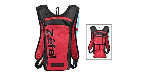 Mochila hidratante Zefal Z Light Hydro M 1,5 litros depósito de bebida rojo/negro: Amazon.es: Deportes y aire libre