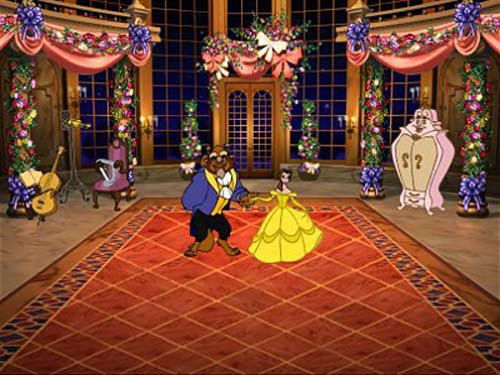 Amazon.com: Disney's Beauty and the Beast Magical Ballroom - PC ...