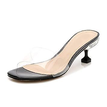 Y Eeayyygch Moda Mujer Sandalias Para Fuente Casual Gatos qVUMSGzp