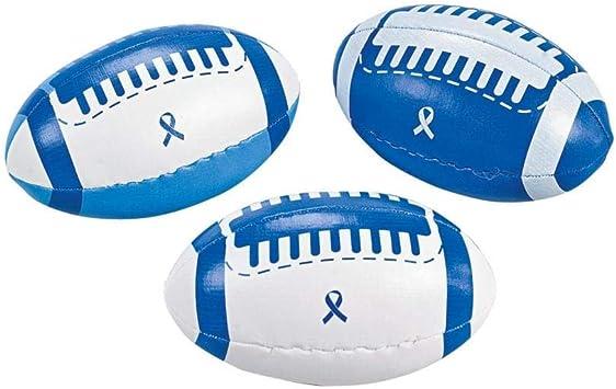 Fun Express – Balón de fútbol de Espuma con Cinta Azul ...