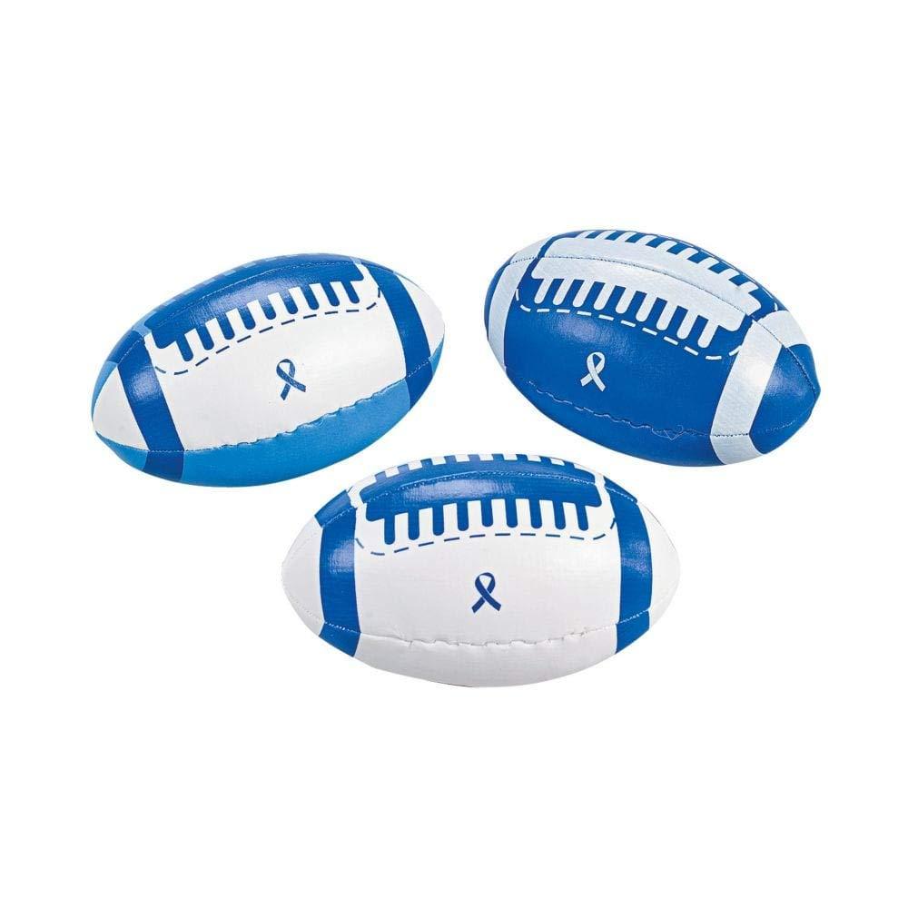 Fun Express - Balón de fútbol de Espuma con Cinta Azul - Juguetes ...