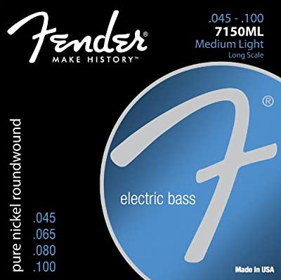 Nickel-Plated Steel Roundwound Bass Strings 3 by FECF9