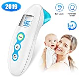 Best Baby Thermometer - Digital Infrareds - Baby Thermometer, AERZETIX 5-in-1 Medical Forehead and Ear Review
