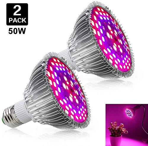 Led Grow Light Bulb 50W - Led Plant Light Full