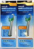 Waterpik SRSB-3W Sensonic Replacement Toothbrushes (Compact Head Size), 6-Count Review