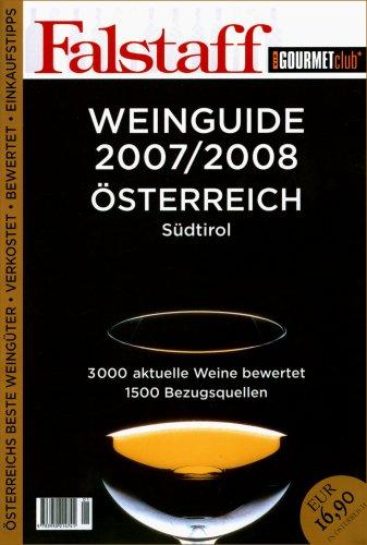 FALSTAFF WEINGUIDE 2007/2008 ÖSTERREICH Südtirol Taschenbuch 3950214747 MAK_GD_9783950214741