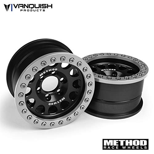Vanquish Products Method 1.9 Race Wheel 105 Black/Clear Anodized (2), VPS07911