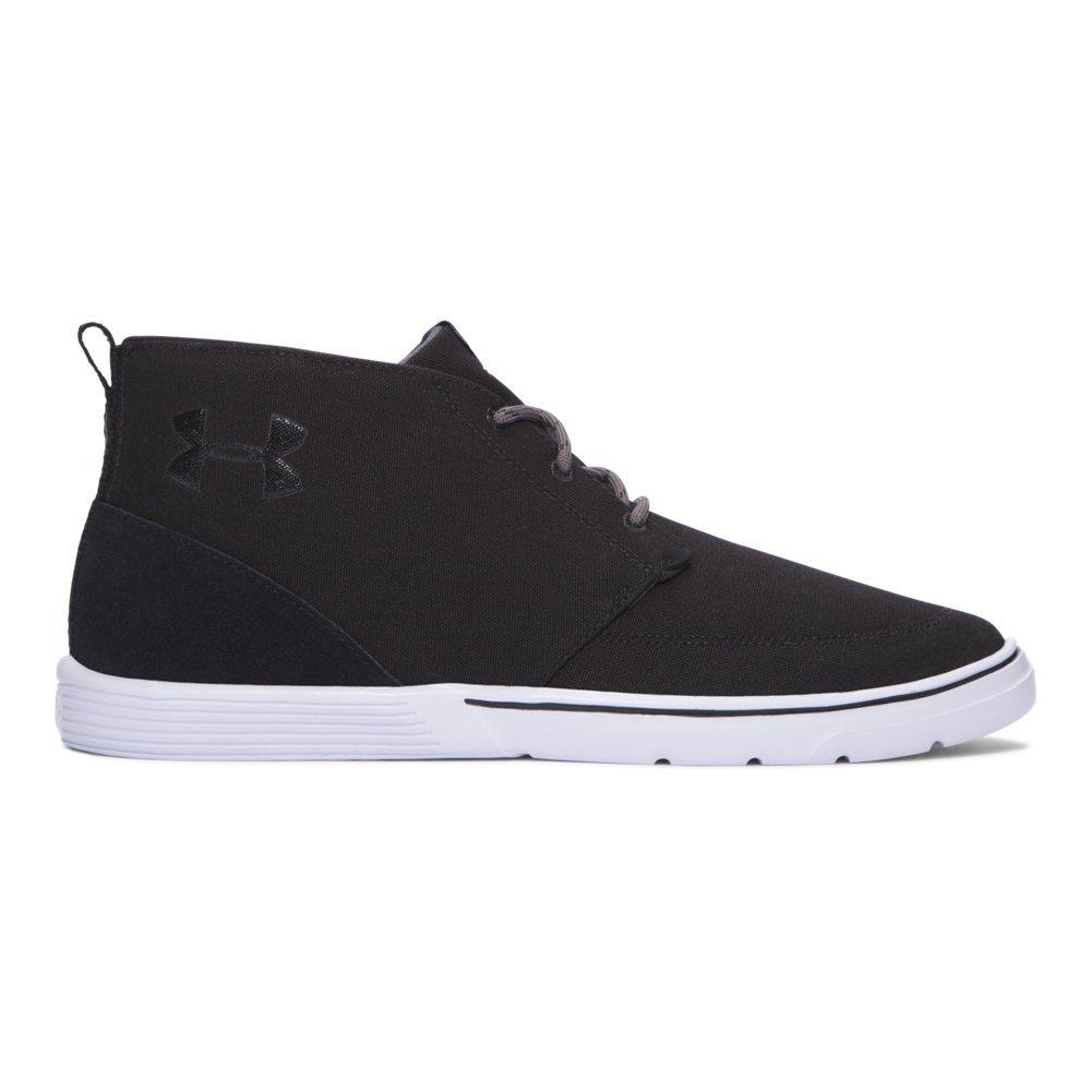 Under Armour Men's Street Encounter Mid Sneaker B01MQYDPTB 13 D(M) US|Black/ White