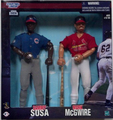 Sammy Sosa and Mark McGwire 1999 Baseball Starting Lineup Figures