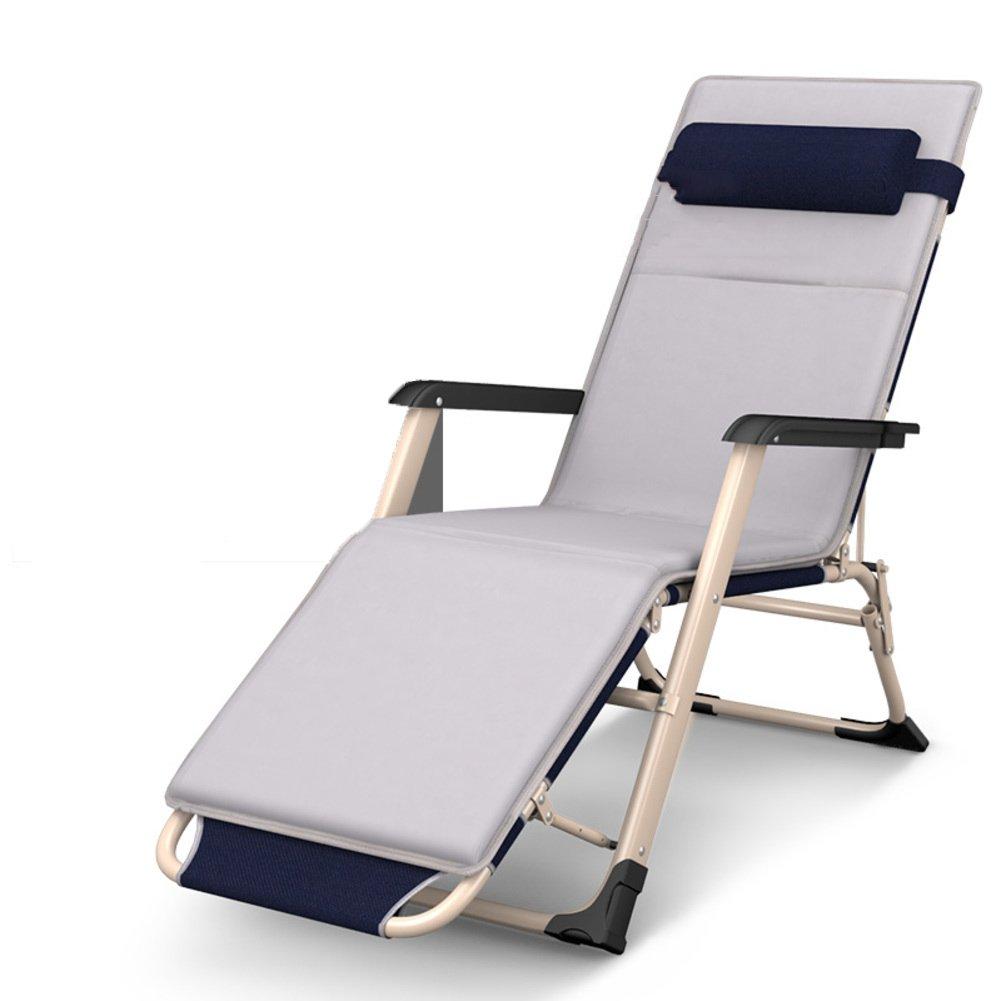 L&J オフィス 折りたたみ椅子, 無重力の椅子 ポータブル 多機能 ラウンジチェア, 家計 パティオ リクライニングチェア, バルコニー パティオ プール, 荷重 200 Kg を負荷します, 花火大会 B07F5FGLTM G G