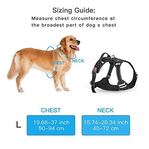 SHINE-HAI-Front-Range-Dog-Harness-No-Pull-Pet-Harness-Adjustable-Vest-Harness-3M-Reflective-Walking-Training-Outdoor-Adventure-Easy-Control-for-Medium-Large-Dogs