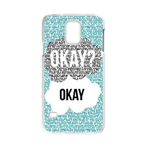 Season.C-Custom The Fault In Our Stars Back Cover Case for Samsung Galaxy S5 i9600 (White)