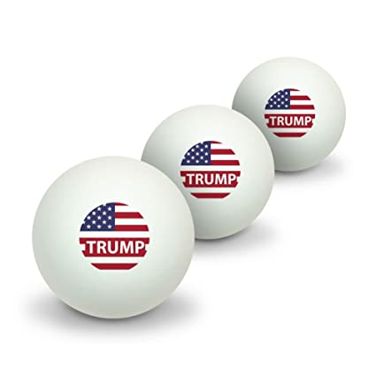 Ping Pong Game With American Lives >> Amazon Com Graphics More President Trump American Flag Novelty