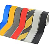Zhi Jin 1Roll 5CM Safety High Grip Tape Adhesive Strong Anti Slip Backed Tapes Colors Black