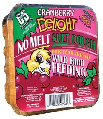 Cranberry Delight No Melt Suet Cake For Wild Birds