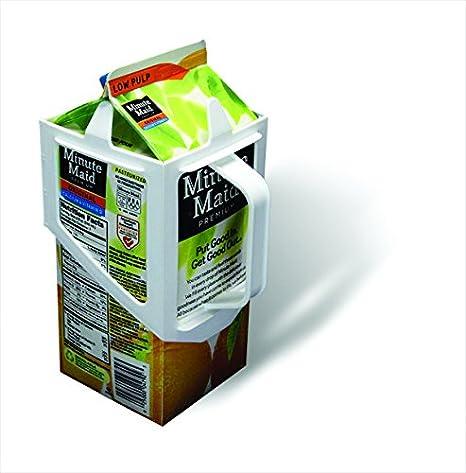 Amazon.com: Caja de cartón soporte de caddy leche, zumo ...