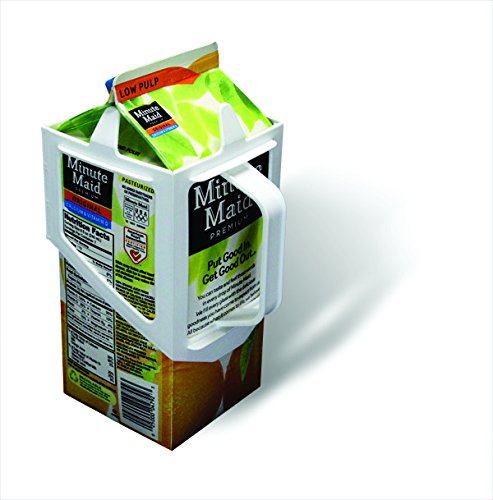 - Carton Caddy Milk Holder, Juice Holder, 1/2 Gallon Carton Holder