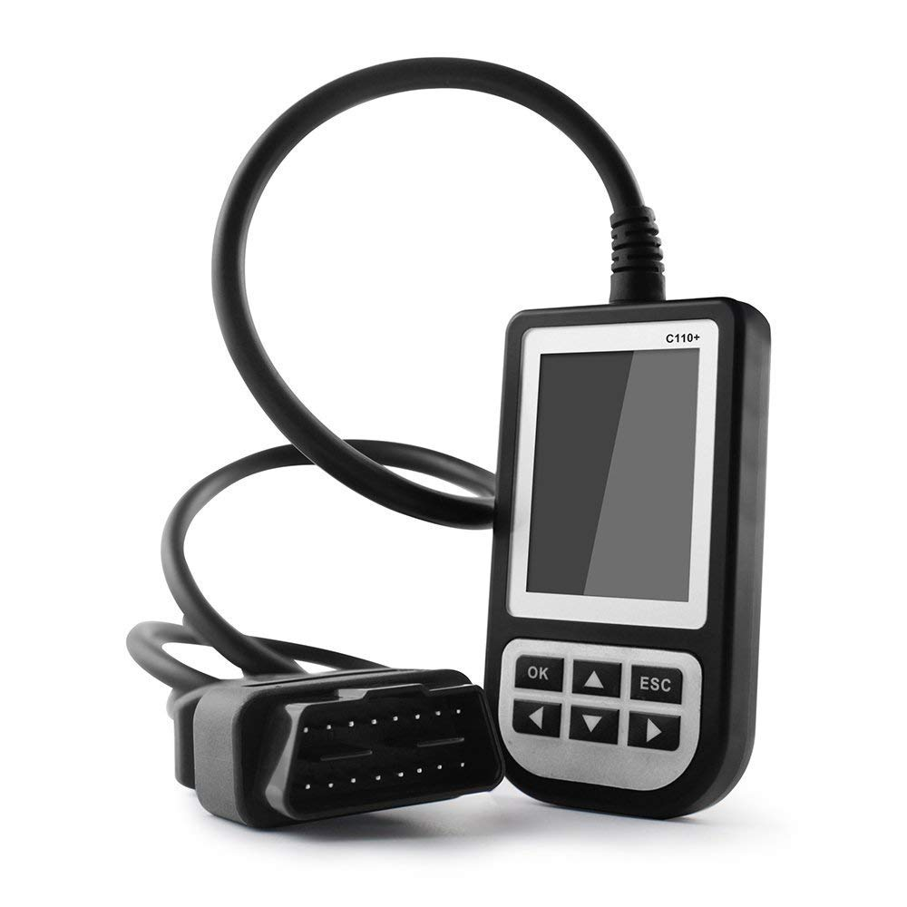 Creator C110 OBD2 Airbag ABS SRS Diagnostic Fault Code Reader Scanner For BMW