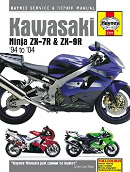 Kawasaki Ninja Zx7r Zx9r Repair Manual Haynes Service Manual