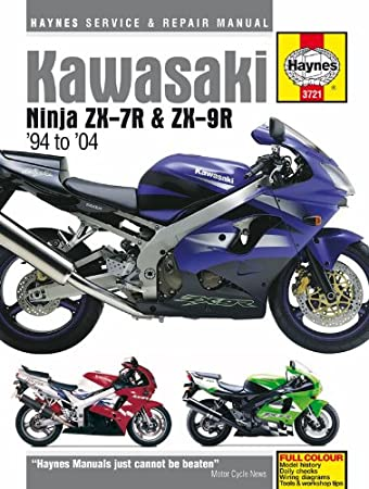 kawasaki ninja zx7r zx9r repair manual haynes service manual rh amazon co uk 1998 kawasaki zx7r service manual Kawasaki Ninja 750