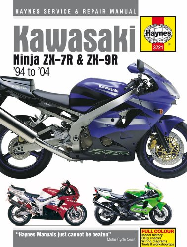 Kawasaki Ninja ZX7R ZX9R Repair Manual Haynes Service Manual Workshop Manual 1994-2004 Haynes Publishing