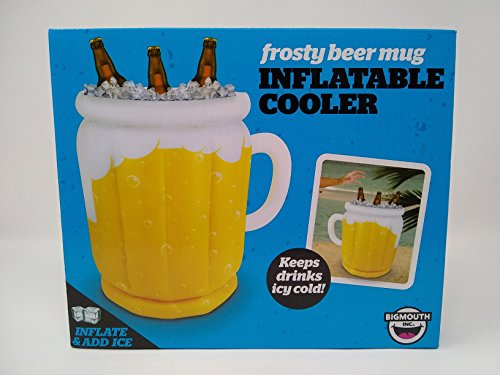 The Frothy Inflatable Cooler - Keeps Drinks Icy Cold -
