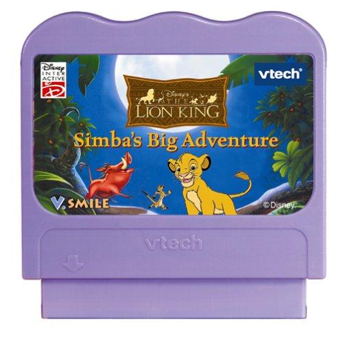 V Tech - V.Smile - The Lion King Simba's Big Adventure by VTech (Image #1)