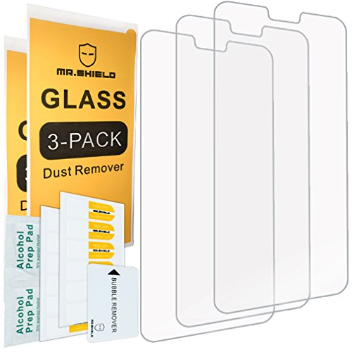 [3-PACK]- Mr Shield For Huawei P20 Lite [Tempered Glass] Screen Protector with Lifetime Replacement Warranty