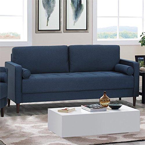 Lifestyle Solutions LK-LGFSP3GU3051 Lexington Sofa, Navy Blue