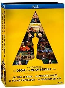 Pack 4 Mejores Películas Oscar: El Discurso Del Rey + El Paciente ...