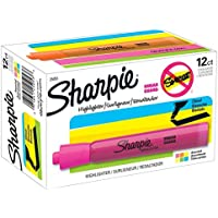 12-Pack Sharpie Accent Tank-Style Highlighters