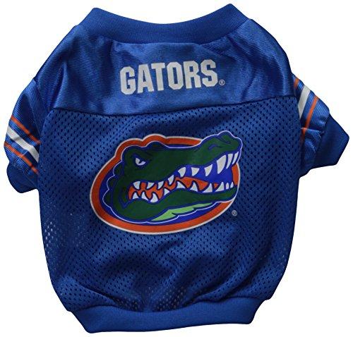 Sporty K9 Collegiate Florida Gators Football Dog Jersey, - Football Jersey Dog Ncaa