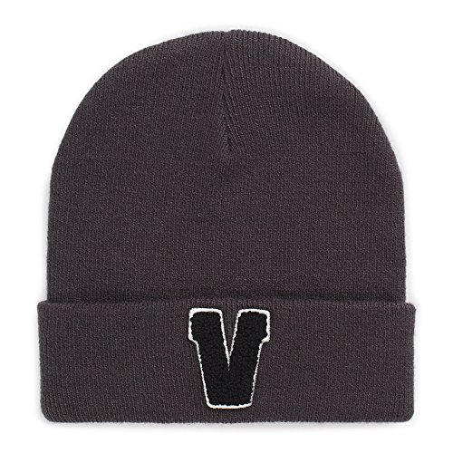 dd27c980d9 Amazon.com  Vans Off The Wall Adult Autumb Beanie Hat Cap - Charcoal ...