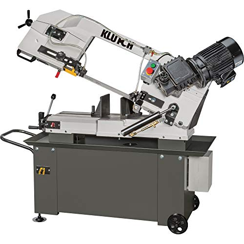 Klutch Metal Cutting Band Saw – 9in. x 12in. 1HP, 115/230V
