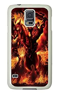 God of War Custom Samsung Galaxy S5/Samsung S5 Case Cover Polycarbonate White