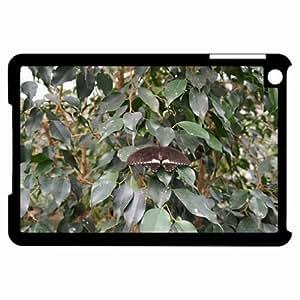 Customized Back Cover Case For iPad Mini Hardshell Case, Black Back Cover Design Farfalla 5 Personalized Unique Case For iPad Mini