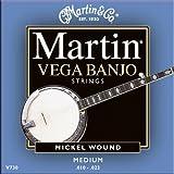 Martin V730 Vega Banjo Strings, Medium