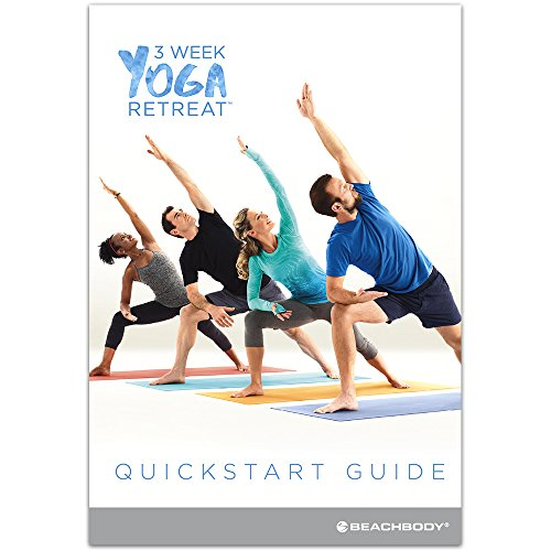 amazon com 3 week yoga retreat workout program dvds learn yoga
