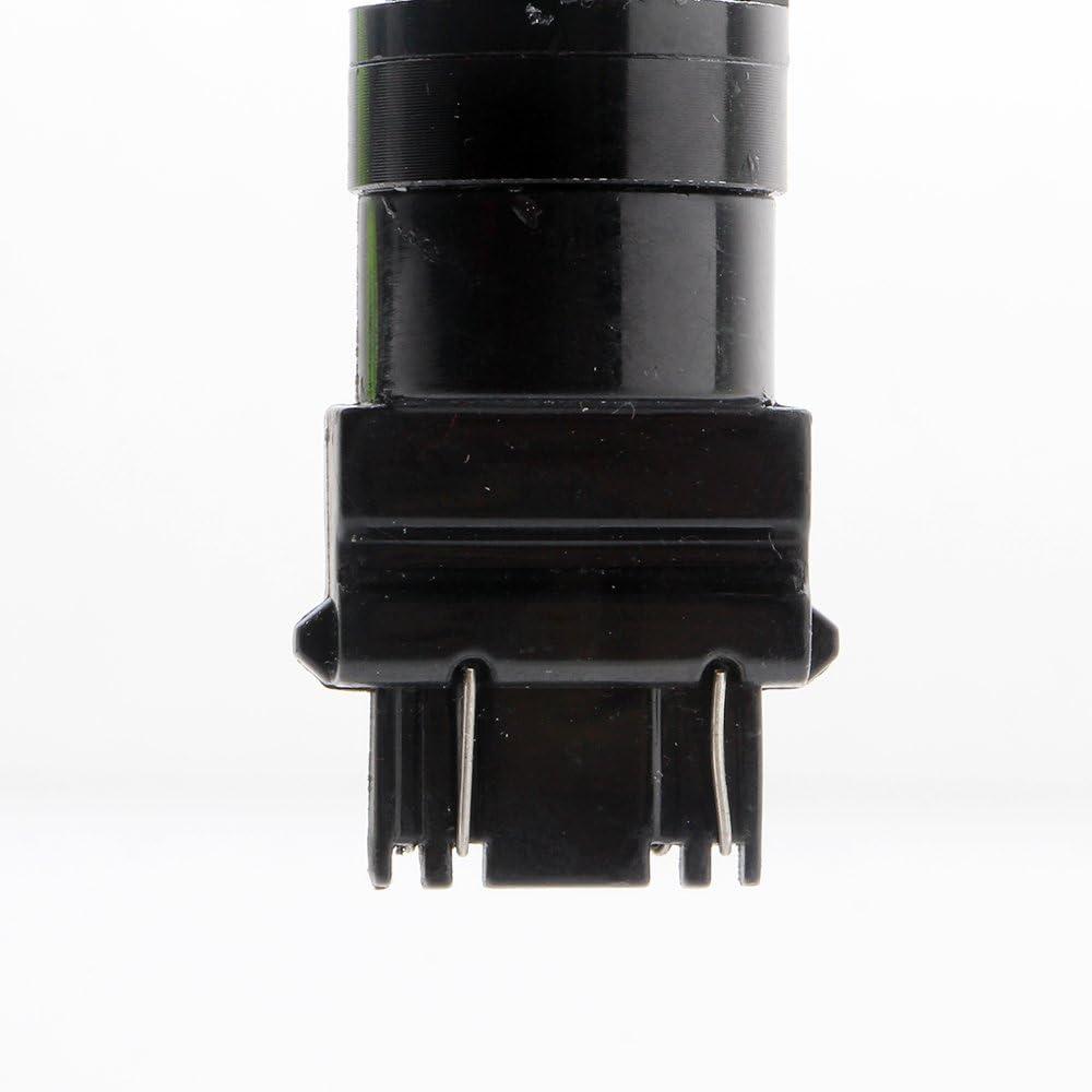 Grandview 420 Lumens 3157 3057 3157A 3357A 2825 42 SMD Amber//White Switchback Turn Signal LED Light Bulbs 12V LED Super Bright 6000-6500K Brake Light Pack of 4