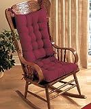 Rocking Chair Cushion Set - Burgundy