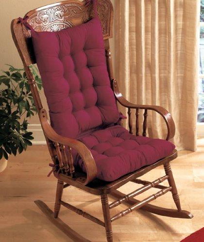 Bon Rocking Chair Cushion Set   Burgundy